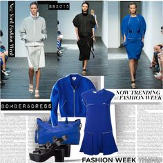 NYFW SS15 Now Trending Bomber & Dress