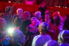 This nightclub for the elderly is fighting loneliness with tea party disco Types Of Communities, Old Folks, Young Ones, Aging Gracefully, Loneliness, Cabaret, Night Club, Storytelling, Tea Party