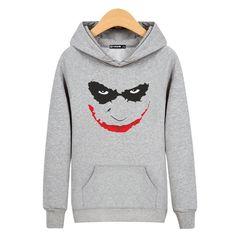 DC Comics Super Hero Cartoon Batman JOKER Hoodie Mens Sweatshirt Jumpers ts07