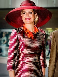 Queen Maxima of The Netherlands opens the Design Derby Netherlands -  Belgium on June 19 46907a363f61