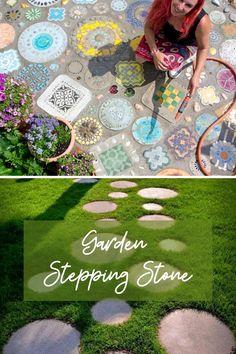 New Garden Stepping Ideas #gardenstonepath Garden Steps, Easy Garden, Amazing Gardens, Beautiful Gardens, Picnic Blanket, Outdoor Blanket, Garden Stepping Stones, Stone Path, Cray Cray