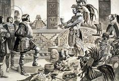 Hernando Cortes in Mexico