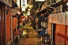 NONBEI YOKOCHO SHIBUYA TOKIO BARES RESTAURANTES CALLE
