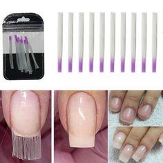 10 pcs/pack Nail Form Fibernails Acrylic Tips Fiberglass Extension Fiber Glass for Nails Silk Building Extension Manicure Tool-Storefyi Nail Extensions Acrylic, Fiberglass Nails, Nail Printer, Hard Nails, Acrylic Nail Tips, Nail Forms, Nail Length, Coffin Shape Nails, Uv Nails
