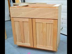 Building a cabinet door step by step: Woodworking Projects for Beginners - YouTube