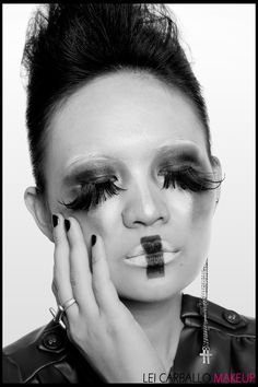 Image detail for -Avant Garde Fashion Makeup