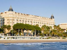 Not surprising, the InterContinental Carlton, a 1911 hotel that survived World War II attack, is packed during the Cannes Film Festival. The hotel has 343 rooms, including 39 renovated suites, 2 restaurants, 2 bars, 10 meeting rooms and a private beach. With breathtaking views over the Bay of Cannes and its location near city's shopping district, this is the place to be in Cannes.