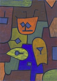 'Figure for the Demonic Theater' (1939) by Paul Klee