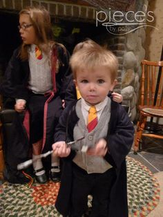 Kids Harry Potter Robe from a T-Shirt in 15 Minutes and links to other diy HP stuff