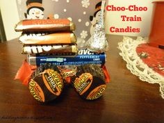 Choo-Choo Train Candies for Polar Express Party