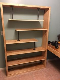 Built my first bookcase : woodworking