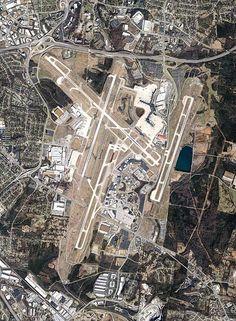 Nashville International Airport (BNA), Nashville, TN, USA.
