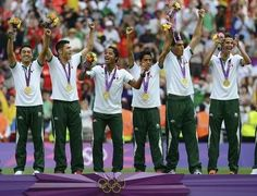 Mexican Soccer Team 2012: Olympic Gold.