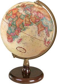GLOBES...ALL KINDS AND SIZES