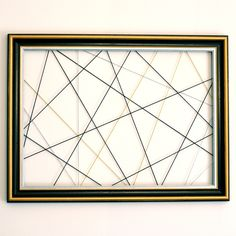 Pell-mix picture frame black, gold and silver: Wall decorations by crealin .
