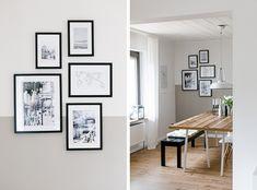 Esszimmer im skandinavischen Stil Sweet Home, Gallery Wall, Home And Garden, Indoor, Furniture, Composition, Decorating Ideas, Decoration, Home Decor