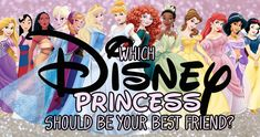 Which Disney Princess Should Be Your Best Friend? I got Pocahontas
