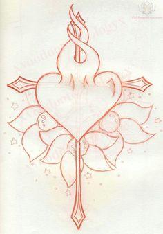 Heart And Arrow Tattoo Designs arrow cross and burning heart tattoo . Arrow Tattoo Design, Heart Tattoo Designs, Heart Tattoos, Tatoos, Chinese Writing Tattoos, Gothic Fantasy Art, Tattoo You, Blackwork, New Art