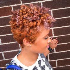 Beautiful Curls With Color  http://instagram.com/bombshelllooks