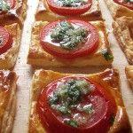 Blätterteig-Tomaten-Snack