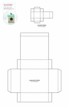 You & I Click Box #free pattern/template #downloadable