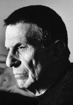 Leonard Nimoy -- There will forever be only one Spock for me!