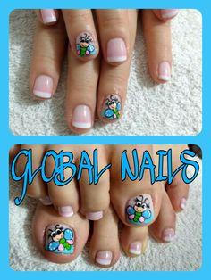 Mani Pedi, Manicure, Sour Cream, Templates, Toe Nail Art, Short Nail Manicure, Nail Manicure, Nail Designs Pictures, Nail Bar