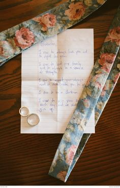 Beautiful vows to accompany beautiful engagement rings | Photograph by Joel Bedford | Real weddings