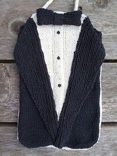 Ravelry: Black tie / Hot water pattern by brella