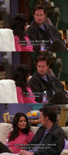 Monica and Chandler ❤