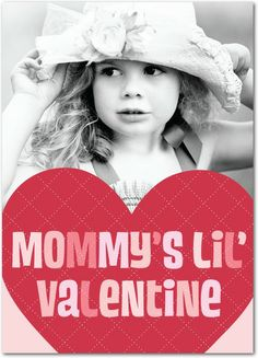 Mommy's Valentine - Valentine's Day Cards in Cranberry   Magnolia Press