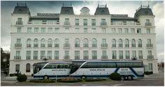 Setra 54 plazas + Guía en Hotel Sardinero, Santander.