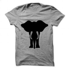 African elephant front profile art - #t shirts online #mens t shirts. GET YOURS => https://www.sunfrog.com/Pets/African-elephant-front-profile-art.html?60505