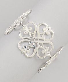 Silver Layered Link Bracelet