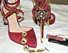 Pair it with red pumps!