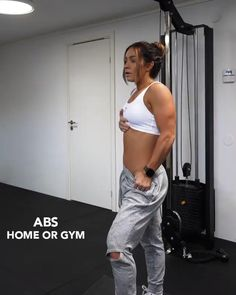 Gym Workout Videos, Abs Workout Routines, Gym Workout For Beginners, At Home Workout Plan, Butt Workout, Gym Workouts, At Home Workouts, Workout Fitness, Workout Challenge