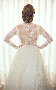 Vestido de novia diseñado por Rosa Pedroche