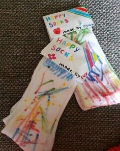 Vaderdag happy socks The Effective Pictures We Offer You About cute Mothers Day Crafts for Kids A qu Mothers Day Crafts For Kids, Fathers Day Crafts, Gifts For Father, Happy Fathers Day, Diy For Kids, Happy Mothers, Happy Socks, Cadeau Parents, Fun Craft