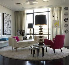 Modern Interpretation of Mid-century decor.