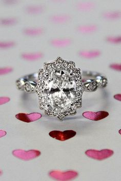 30 Halo Engagement Rings Or How To Get More Bling ❤ See more: http://www.weddingforward.com/halo-engagement-rings/ #weddings