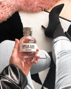 "CHLOE.ROXANE - Style : Loving the fragrance ""Girls Can Do Anything"" by Zadig&Voltaire. Zadig And Voltaire, Do Anything, Chloe, Fragrance, Canning, Girls, Life, Style, Swag"