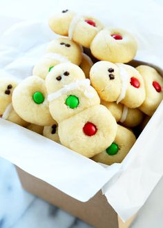 Easy Gluten Free Snowman Sugar Cookies   Gluten Free on a Shoestring