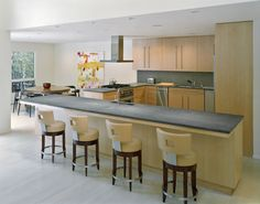 3eh 0102 - Contemporary - Kitchen - Images by Lisa Dubin Architect | Wayfair