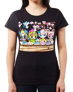 Love this t shirt from Tokidoki! But think it's out of stock :( #giftedbytokidoki #tokidokiholiday