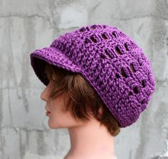 NEW STYLE  Slouchy Summer Brimster in  Exclusive by Threadmill, $38.00