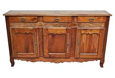 Antique French Country Sideboard on OneKingsLane.com