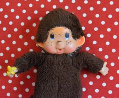 Collectible Vintage Thumb Sucking Doll Soft Toy by VintageToysForAll on Etsy 1970s Dolls, Star Cards, Little Twin Stars, Look Alike, Baby Bottles, Doll Toys, Hello Kitty, Vintage Items, Kawaii