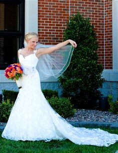 After all there is something about a wedding-gown prettier than in any other gown in the world.  ~Douglas William Jerrold
