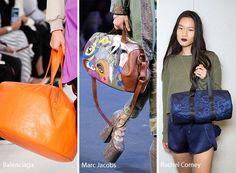 Spring/ Summer 2017 Handbag Trends: Duffle Bags