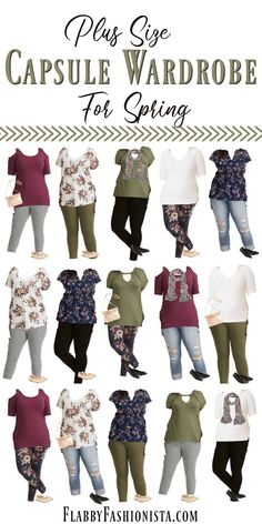 Mix & Match these 14 items to create 15 fabulous outfits! This Plus Size capsul… Mix & Match these 14 items to create 15 fabulous outfits! This Plus Size capsule wardrobe is perfect for traveling or just keeping your closet manageable! Plus Size Summer Fashion, Plus Size Fashion For Women, Plus Size Summer Clothes, Stylish Plus Size Clothing, Plus Zise, Mode Plus, Outfits Otoño, Capsule Outfits, Plus Size Work Dresses